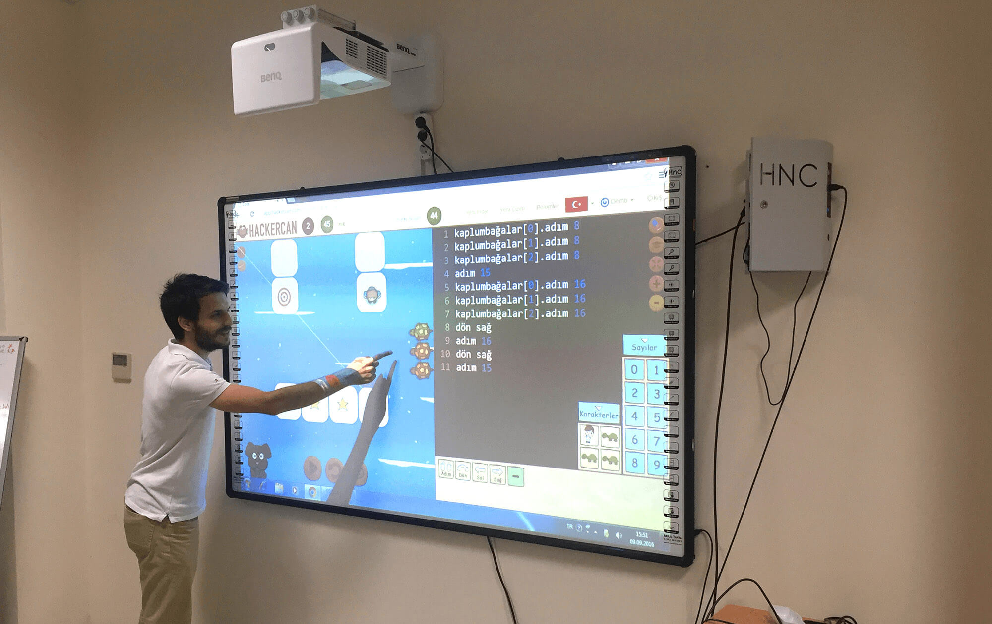 Fully Integrated with Smart Boards